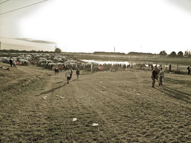 Roskilde campingudsigt