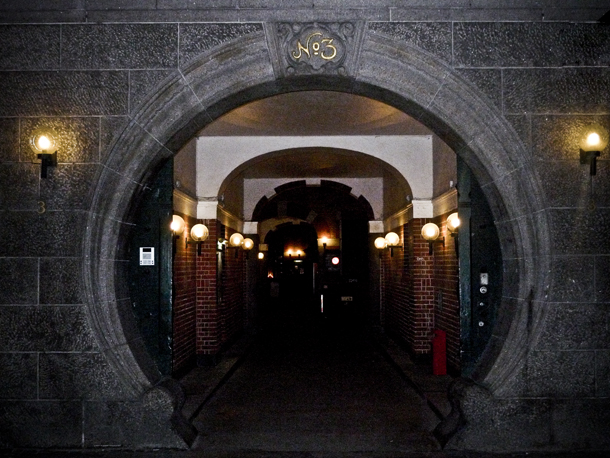 Den runde port
