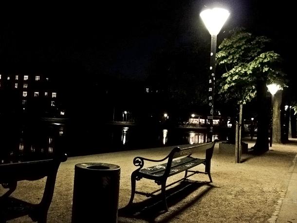 Aften ved søerne
