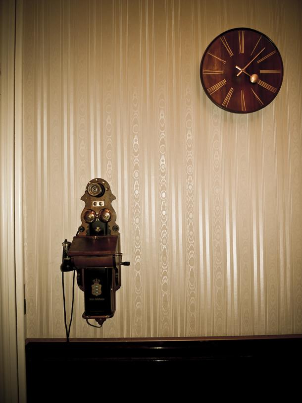 Telefon og ur