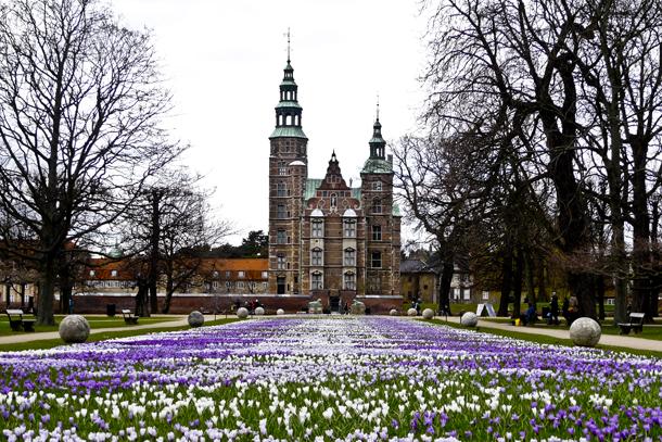 Rosenborg in spring